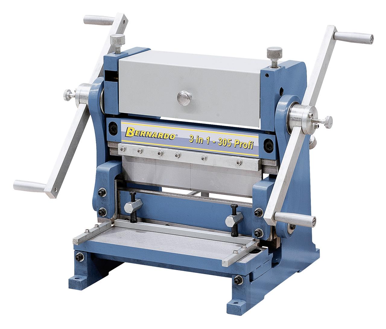 Maszyna uniwersalna do blachy 3 IN 1 - 305 Profi BERNARDO