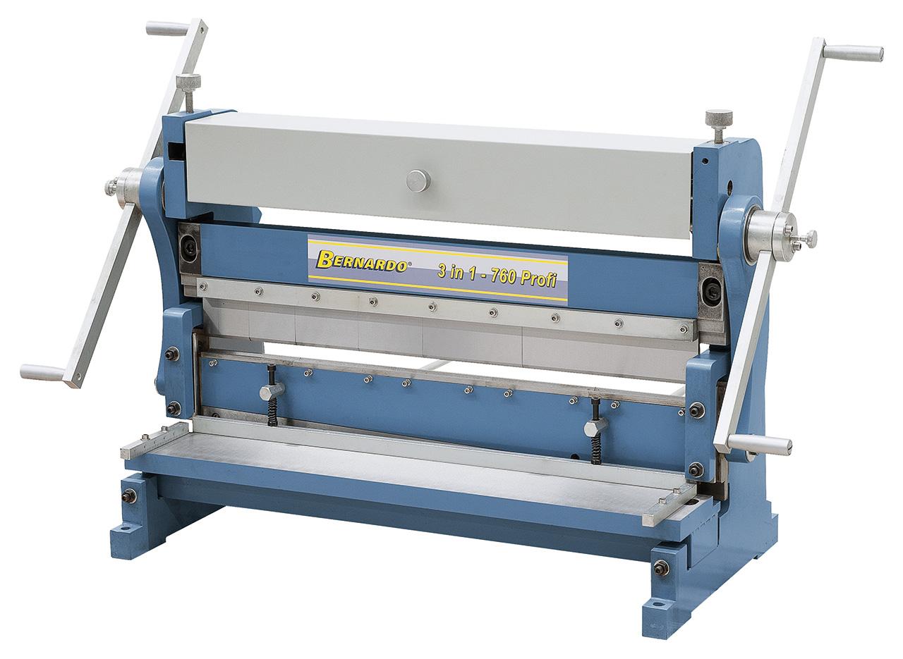 Maszyna uniwersalna do blachy 3 IN 1 - 760 Profi BERNARDO