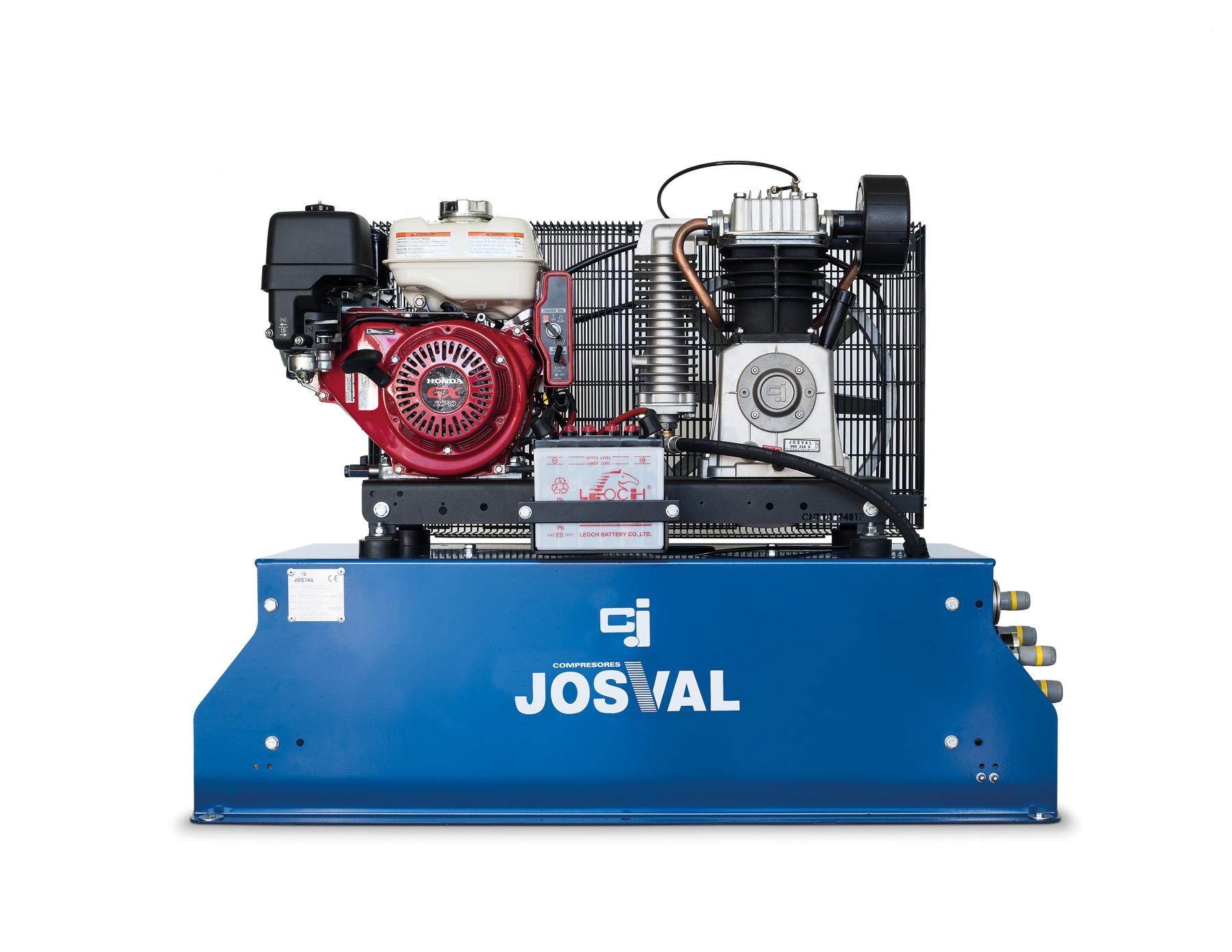 Kompresor spalinowy silnik benzynowy HONDA - MOTOR - MOBIL EASY (50L, 14BAR, 9KM) JOSVAL