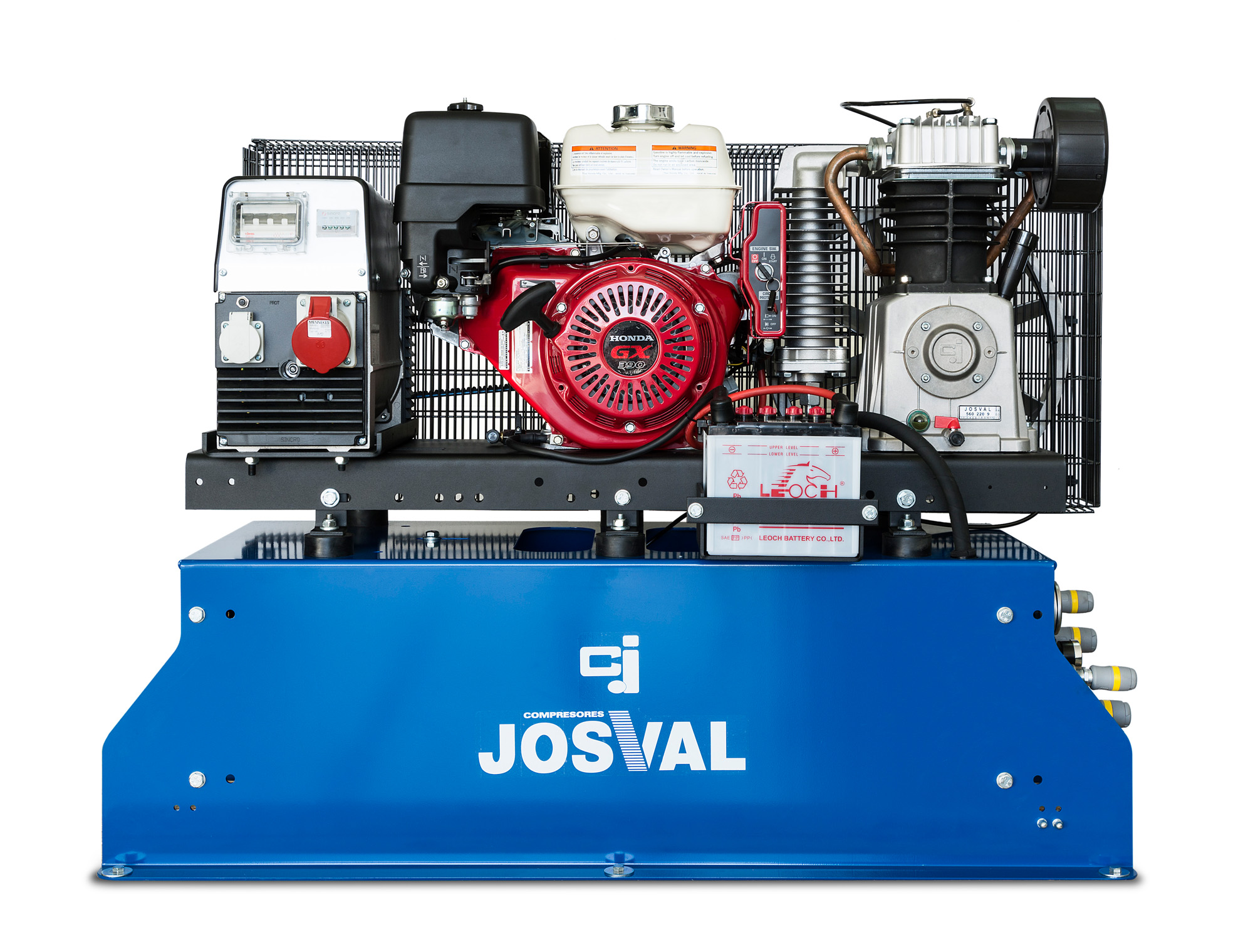 COMPR. 13 CV GAS.50 L 14 Bar = MOBIL J-AIR -SH- JOSVAL