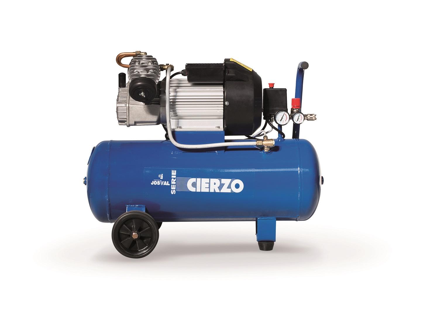 Kompresor tłokowy CIERZO NKV-30 (230V) (30L, 3KM, 8BAR) JOSVAL