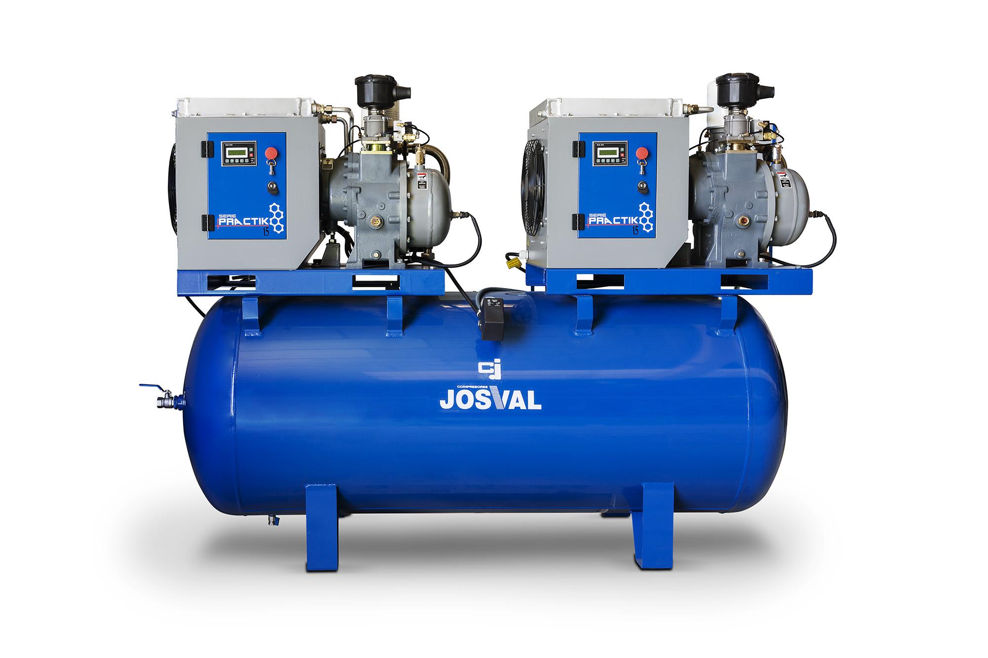 JOSVAL PRACTIKO DUO 5.5-500/A (500L, 2x5.5KM, 10BAR) JOSVAL
