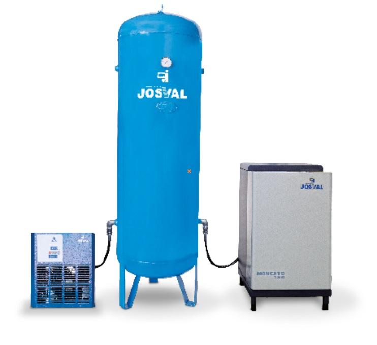 Kompresor tłokowy wyciszany - MONCAYO EQUIPO 780 -AS- ZESTAW 5.5KM 270L + osuszacz + filtr JOSVAL