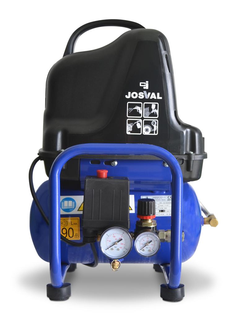 Kompresor bezolejowy CIERZO - TRENDY EVO (6L, 1.5KM, 8BAR) JOSVAL