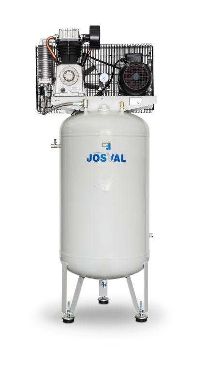 Kompresor pasowy - tłokowy CLASSIC - MC-VAF-300 (400V) (270L, 4KW, 10BAR) JOSVAL
