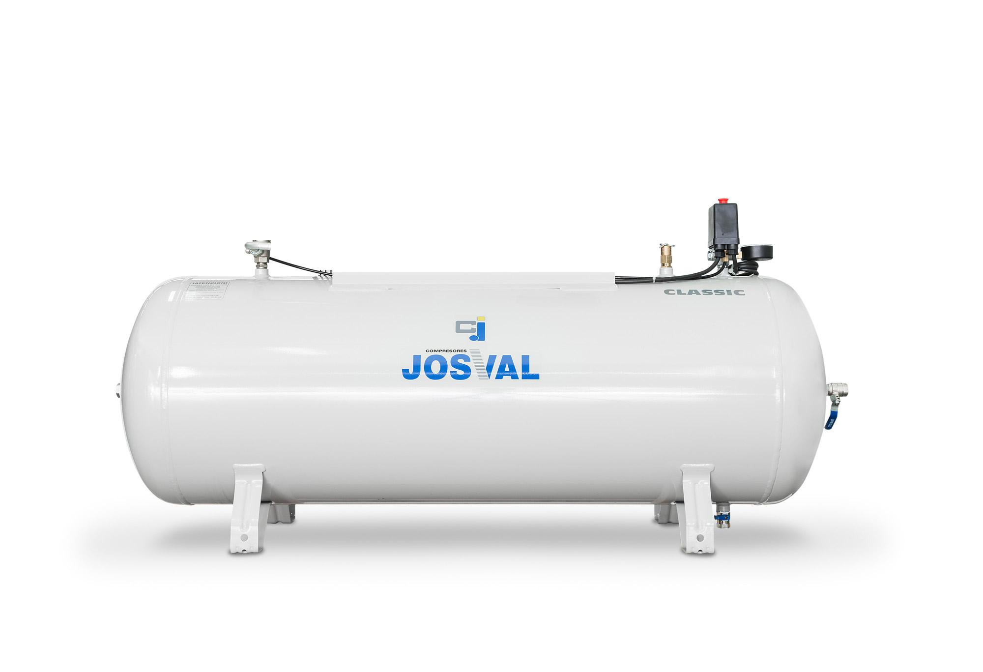 Zbiornik poziomy DH 100 JOSVAL