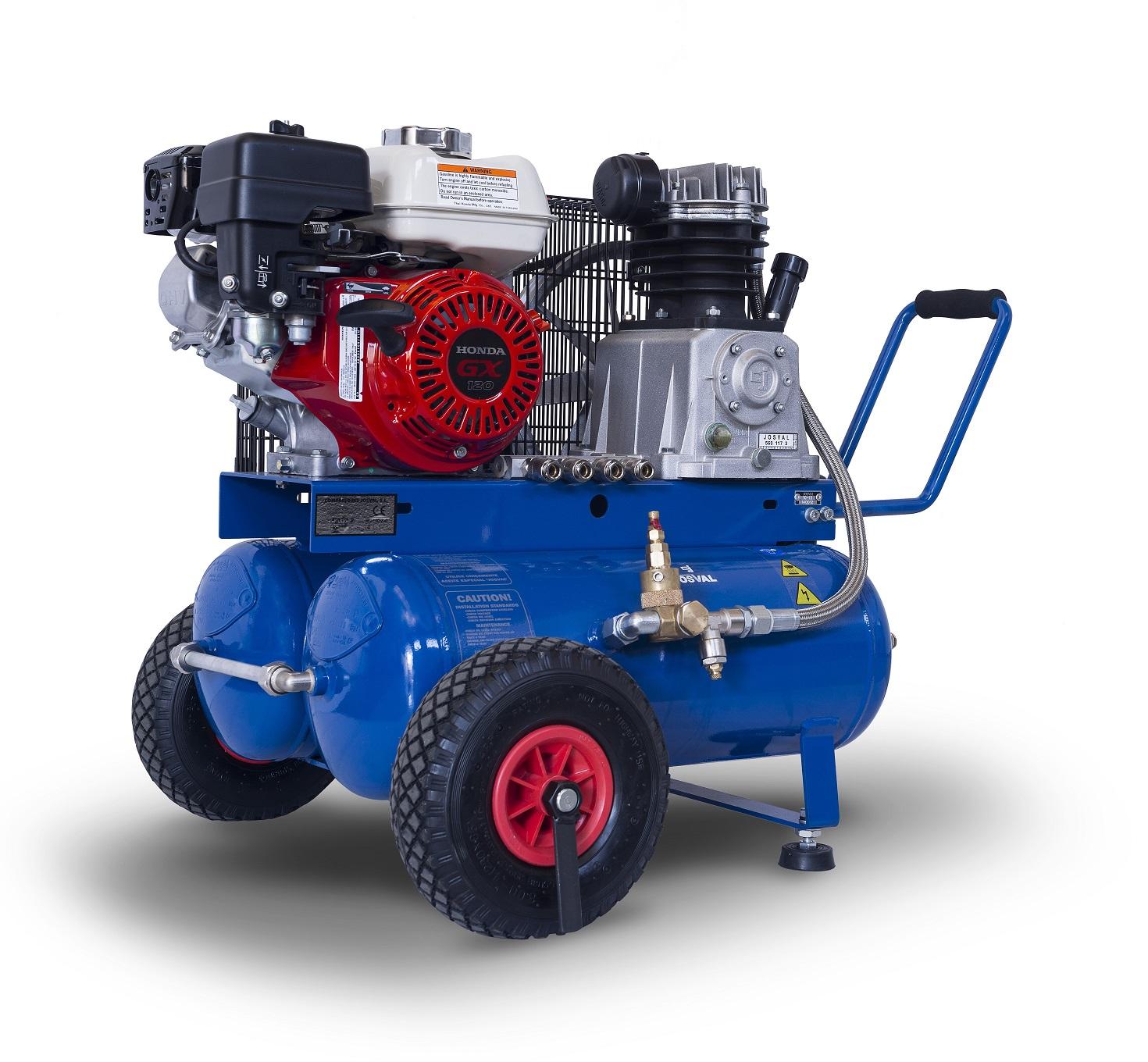 Kompresor spalinowy silnik benzynowy HONDA - MOTOR - MC-LE-25G (25L, 10BAR, 4KM) JOSVAL