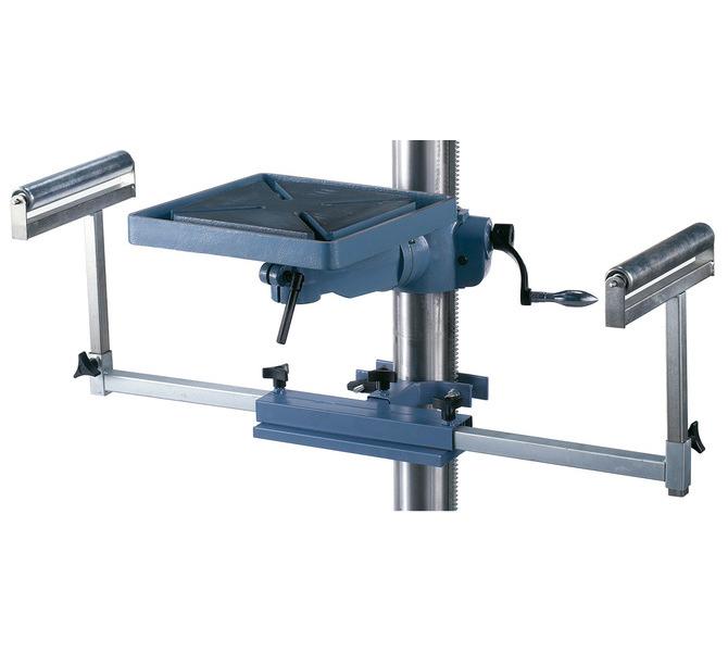 Do zakładania długich przedmiotów obrabianych można dołączyć do maszyny wyciągany suport wiertars... 42 - zdjęcie 4