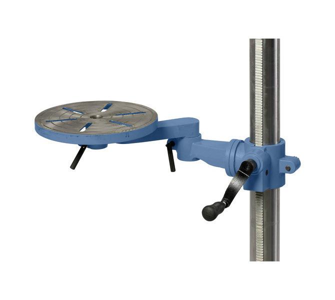 Stół obrotowy obraca się w zakresie 360°, idealne rozwiązanie przy wierceniu współrzędnościowym - 46 - zdjęcie 3