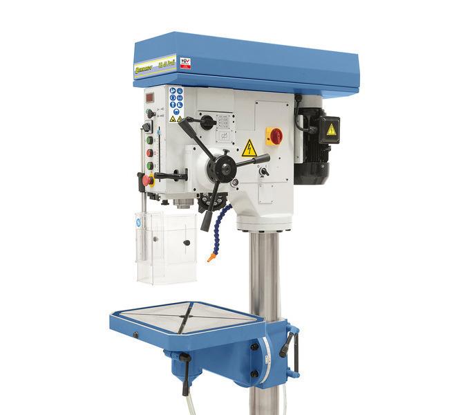 Posuw tulei wrzecionowej odbywa się do wyboru ręcznie albo mechanicznie (0,1 / 0,2 / 0,3 mm/obr.). - 52 - zdjęcie 3