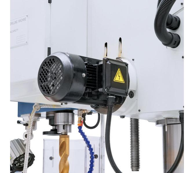 W wyposażeniu standardowym silnik hydrauliczny zaciskający wysięgnik, kolumnę i wrzeciennik wiertarsk... 104 - zdjęcie 9