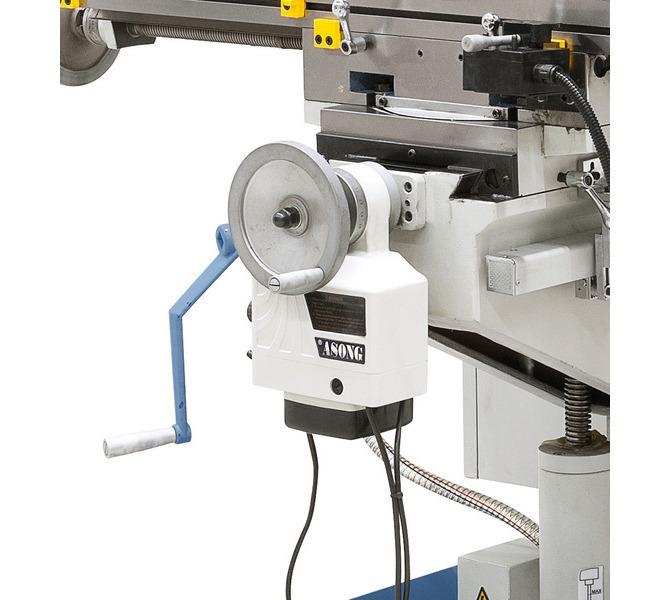 W wyposażeniu standardowym z automatycznym posuwem stołu w osi y. - 218 - zdjęcie 7