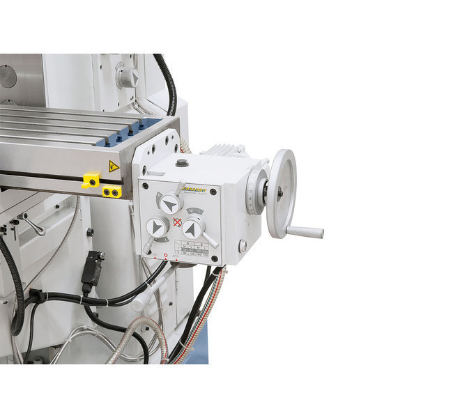 Frezarka uniwersalna UWF 90 z cyfrowym wyświetlaczem 3 osi i pneumatycznym uchwytem narzędzi * BERNARDO - 222 - zdjęcie 11