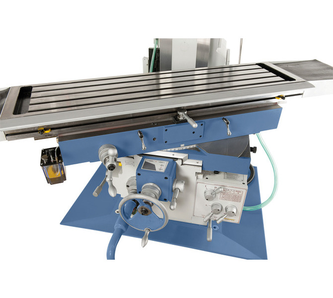 Duże prowadnice zapewniają niezawodną stabilność stołu, stół wychylny w zakresie od -45° do +45�... 225 - zdjęcie 4