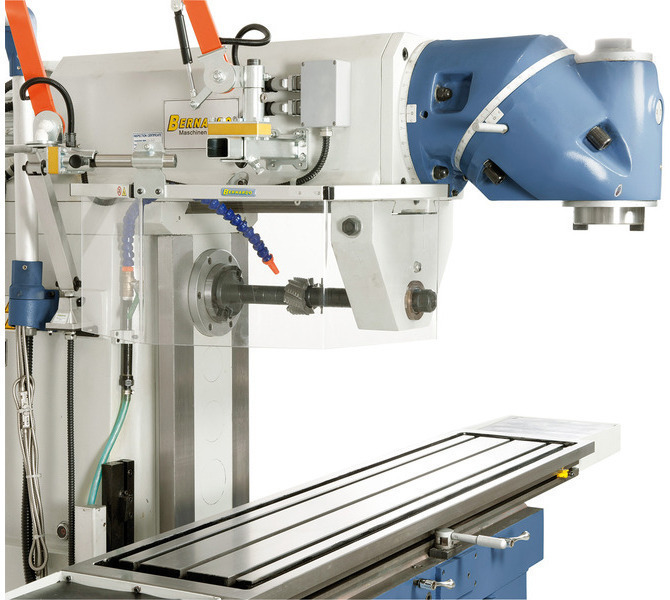 W wyposażeniu standardowym z podtrzymką i długim trzpieniem frezowym do frezowania poziomego. - 230 - zdjęcie 9