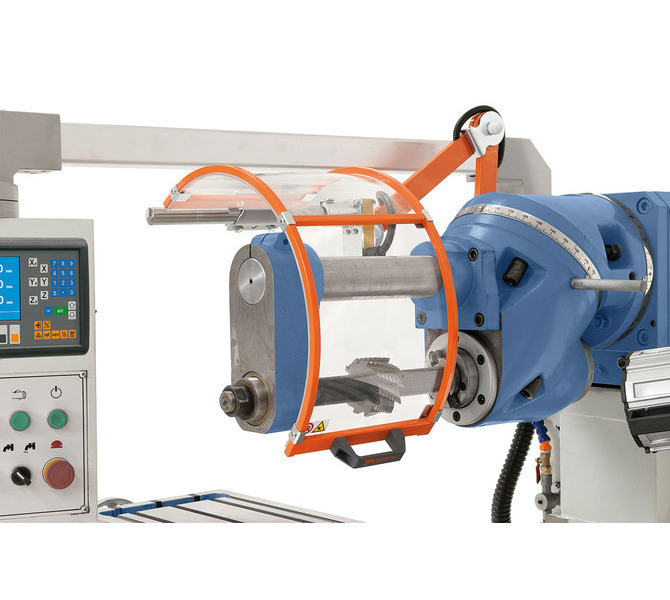 W wyposażeniu standardowym z podtrzymką i długim trzpieniem frezowym do frezowania poziomego. - 232 - zdjęcie 3