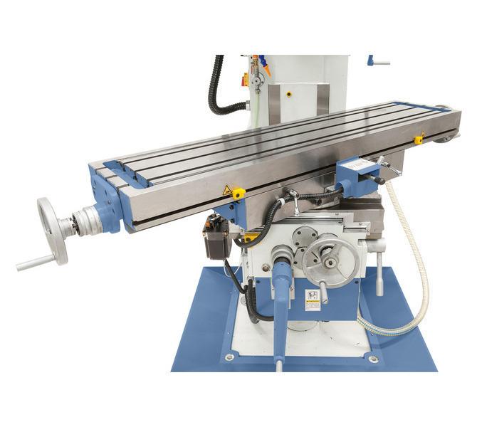 Duże prowadnice zapewniają niezawodną stabilność stołu, stół wychylny w zakresie od -45° do +45�... 232 - zdjęcie 7