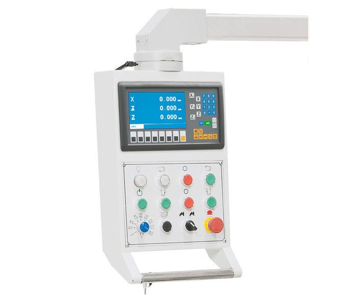 Ergonomicznie i przejrzyście zamontowany pulpit obsługowy, w wyposażeniu standardowym z elektronicznym... 233 - zdjęcie 7