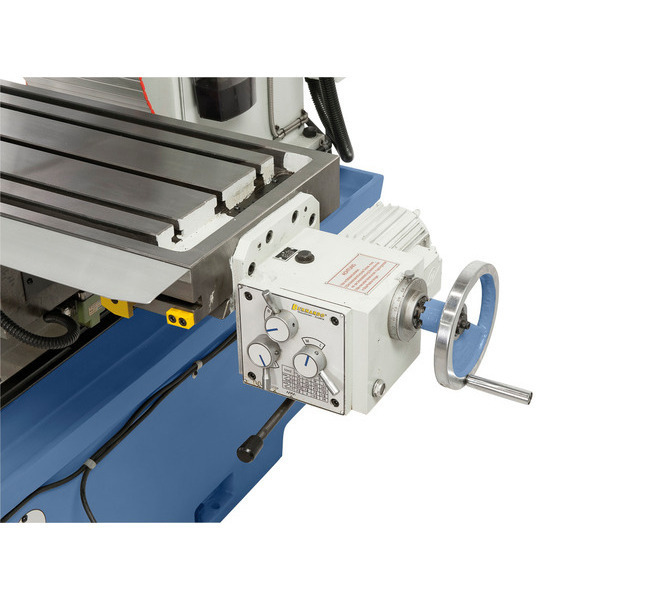 Stół w osi x regulowany jest poprzez 8 dowolnie wybieranych posuwów (24-720mm/min.). - 252 - zdjęcie 6