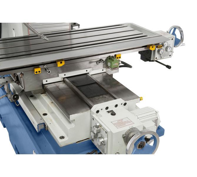 Łatwa i płynna regulacja stołu dzięki stabilnej płaskiej prowadnicy w osi y. - 252 - zdjęcie 8