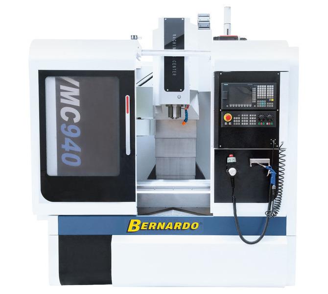 Centrum obróbcze CNC do metalu - VMC 940 SIEMENS SINUMERIK 808D BERNARDO - 268 - zdjęcie 4