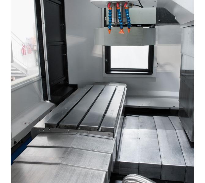 Centrum obróbcze CNC do metalu - VMC 940 SIEMENS SINUMERIK 808D BERNARDO - 268 - zdjęcie 8
