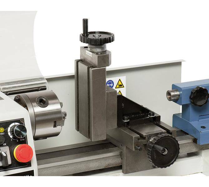 Opcjonalnie: pionowy suport frezowania o powierzchni mocowania 64 x 130 mm - 279 - zdjęcie 6