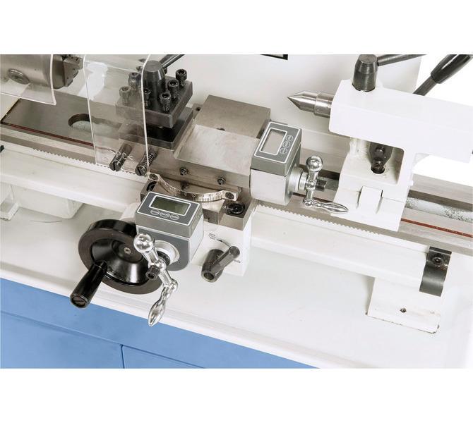 Łatwy odczyt drogi posuwu sań poprzecznych wzgl. narzędziowych na elektronicznym wyświetlaczu w wypos... 285 - zdjęcie 2