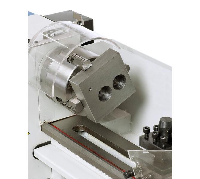 Uchwyttokarski 100 mm (opcja) do mocowania przedmiotów obrabianych o nieregularnych kształtach. - 285 - zdjęcie 7