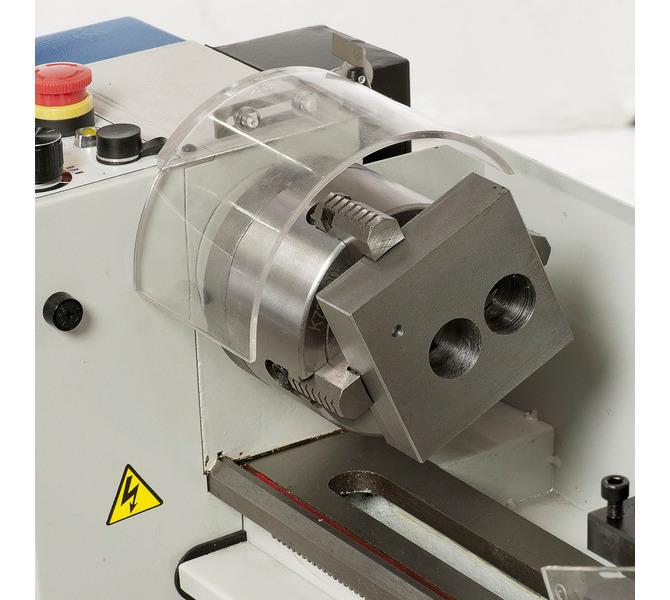 Uchwyttokarski 100 mm (opcja) do mocowania przedmiotów obrabianych o nieregularnych kształtach. - 289 - zdjęcie 3
