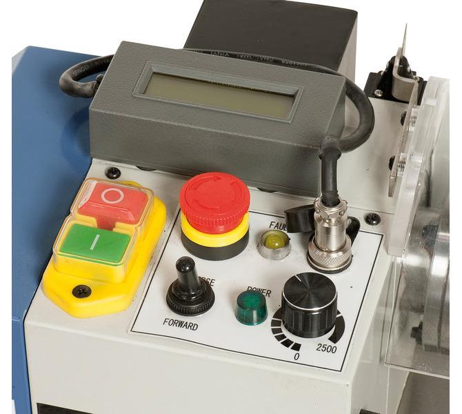Maszyna może być wyposażona w elektroniczny wskaźnik prędkości obrotowej do precyzyjnego odczytu wa... 291 - zdjęcie 3