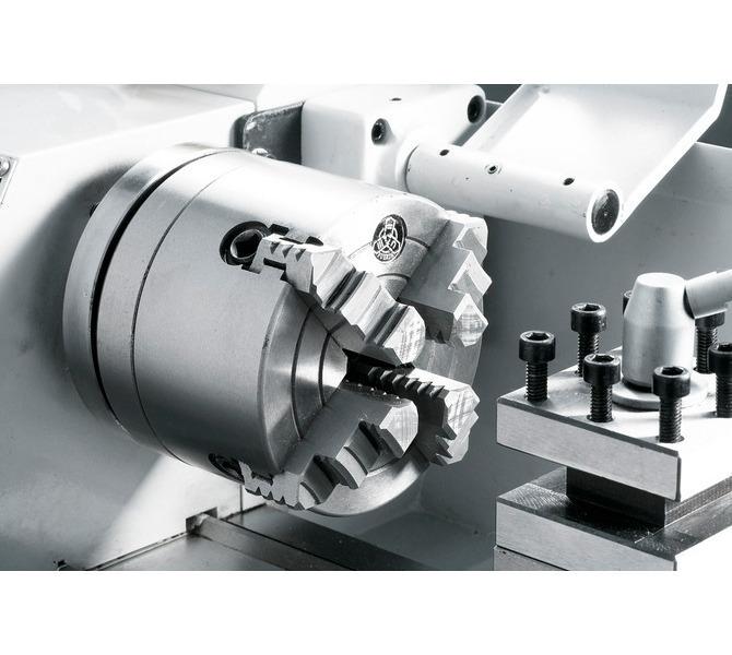 Uchwyttokarski 100 mm (opcja) idealny do mocowania niesymetrycznych przedmiotów obrabianych. - 295 - zdjęcie 5