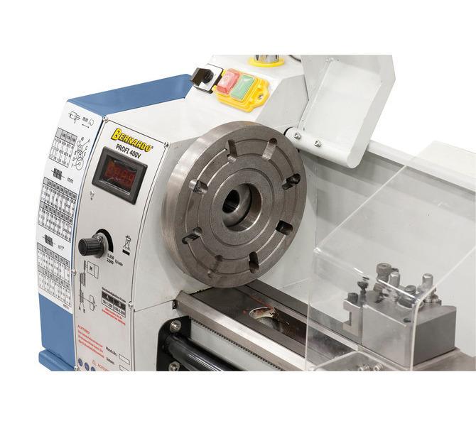 Do mocowania przedmiotów obrabianych o nietypowych kształtach maszynę można wyposażyć w tarczę czo... 296 - zdjęcie 3