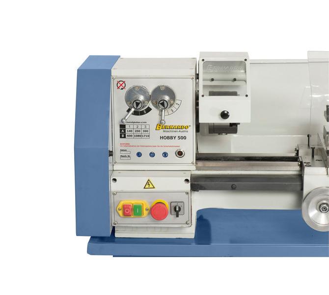 Zainstalowany we wrzecienniku mechanizm przekładniowy pozwala łatwo i szybko zmieniać prędkość obro... 302 - zdjęcie 2