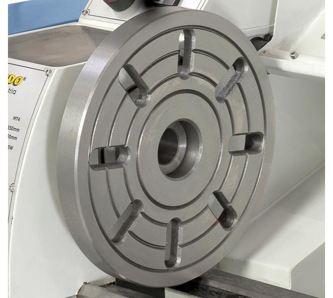 Do mocowania przedmiotów obrabianych o nietypowych kształtach maszynę można wyposażyć w tarczę czo... 307 - zdjęcie 7