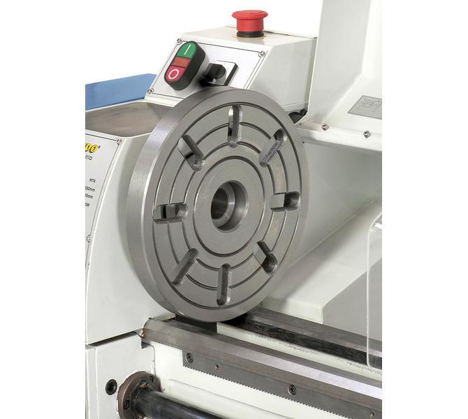 Do mocowania przedmiotów obrabianych o nietypowych kształtach maszynę można wyposażyć w tarczę czo... 309 - zdjęcie 7
