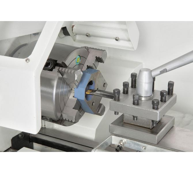 Uchwyttokarski 125 mm (opcja) idealny do mocowania niesymetrycznych przedmiotów obrabianych. - 312 - zdjęcie 8
