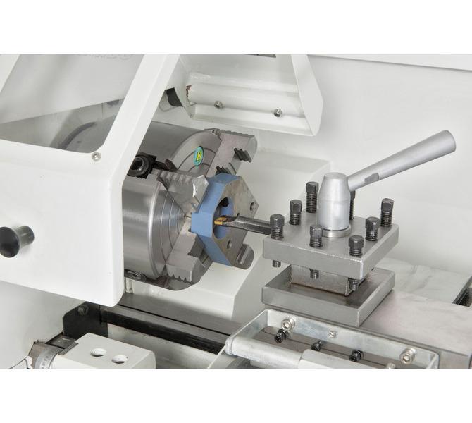 Uchwyttokarski 125 mm (opcja) idealny do mocowania niesymetrycznych przedmiotów obrabianych. - 313 - zdjęcie 5