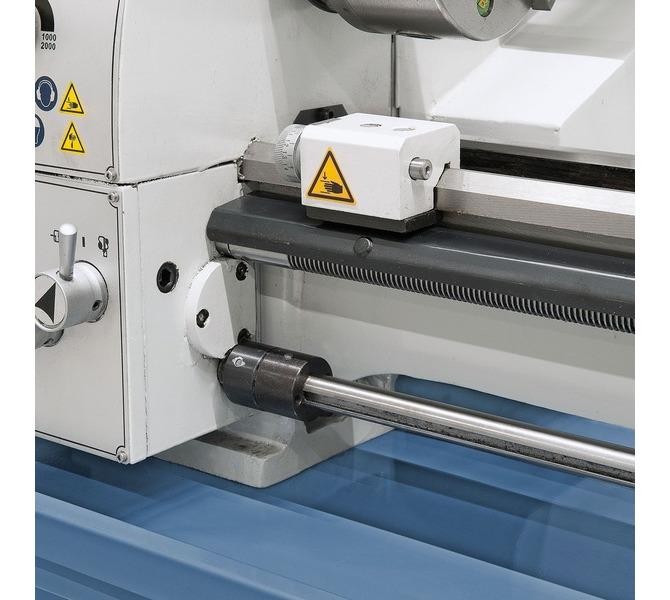 W wyposażeniu standardowym  sprzęgło cierne i mikrometryczny  ogranicznik wzdłużny - 314 - zdjęcie 9