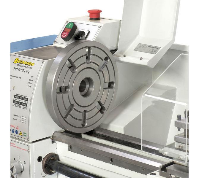 Do mocowania przedmiotów obrabianych o nietypowych kształtach maszynę można  wyposażyć w tarczę cz... 316 - zdjęcie 5