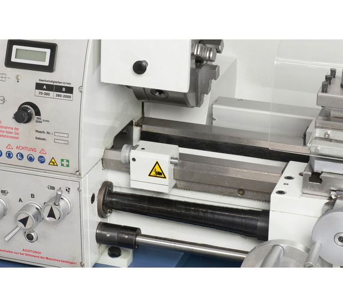 W wyposażeniu standardowym sprzęgło cierne i mikrometryczny ogranicznik wzdłużny - 320 - zdjęcie 3