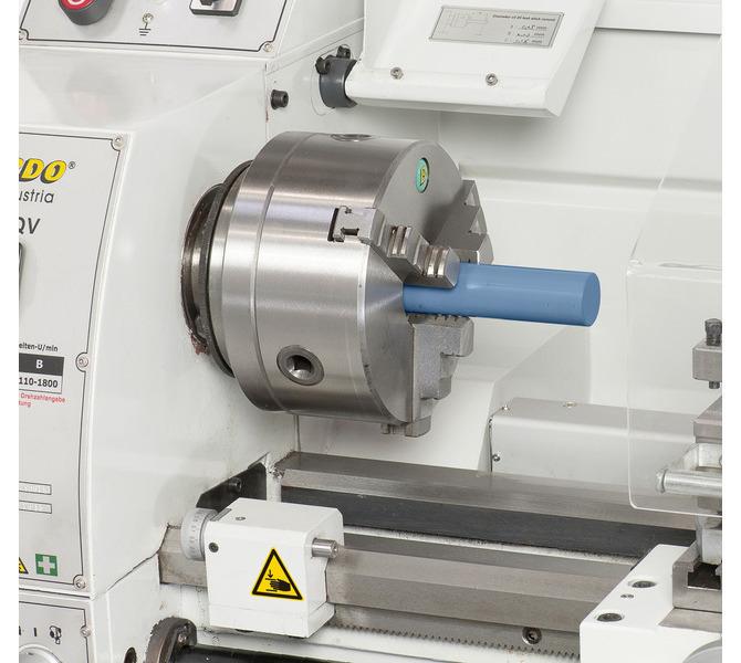 W wyposażeniu standardowym z otworem wrzeciona 38 mm do obróbki wałków o dużych średnicach - 320 - zdjęcie 4