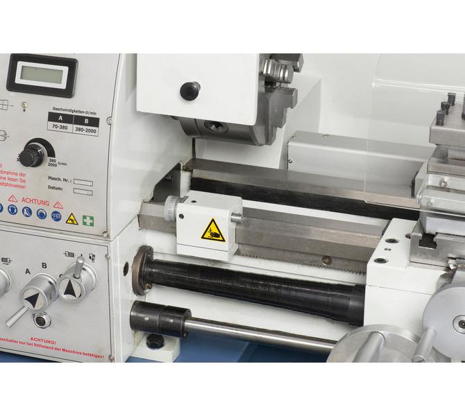 W wyposażeniu standardowym sprzęgło cierne i mikrometryczny ogranicznik wzdłużny - 322 - zdjęcie 3