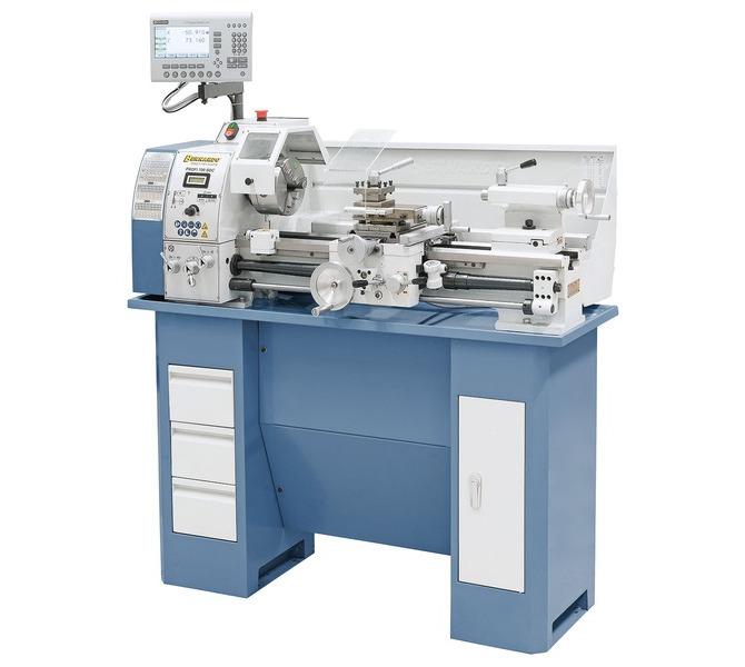 Tokarka stołowa Profi 700 BDC z cyfrowym wyświetlaczem 2 osi BERNARDO - 323 - zdjęcie 1