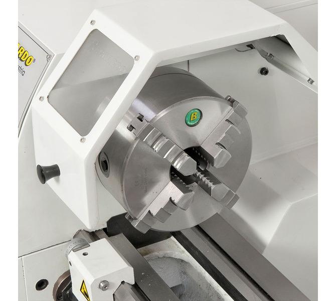 Centrycznie skrawający uchwyt 4-szczękowy 160 mm, optymalny do kwadratowych przedmiotów obrabianych (o... 323 - zdjęcie 6