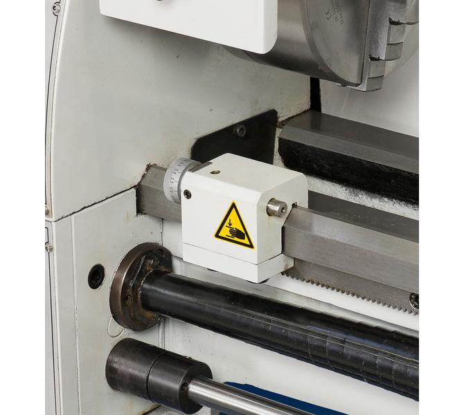 W wyposażeniu standardowym sprzęgło cierne i mikrometryczny ogranicznik wzdłużny - 329 - zdjęcie 8