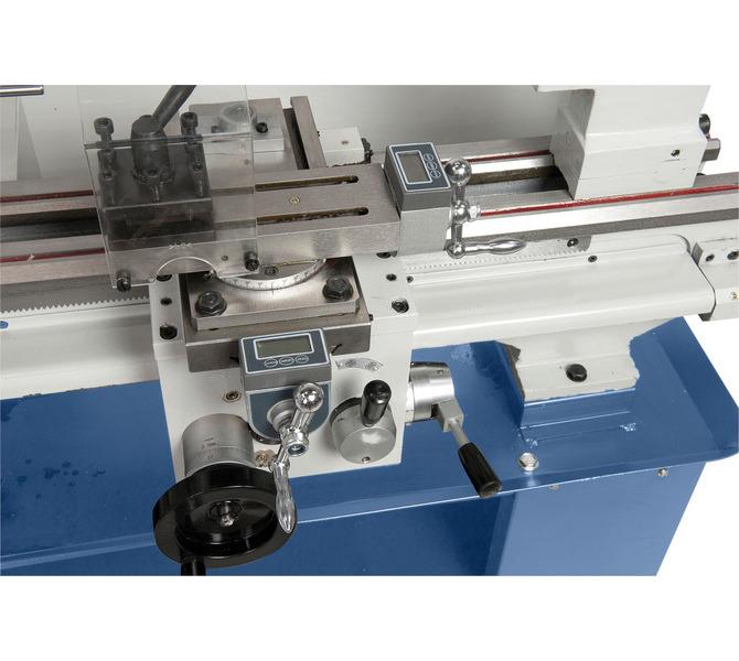 Opcjonalne elektroniczne wyświetlacze sań pozwalają na precyzyjną obróbkę. - 330 - zdjęcie 3
