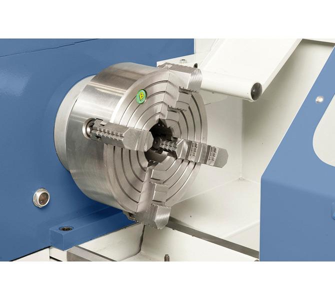 Czteroszczękowy uchwyt tokarski 200 mm ze szczękami kierunkowymi w wyposażeniu standardowym - 346 - zdjęcie 7