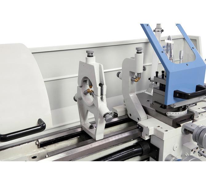 W wyposażeniu standardowym ze stałą i ruchomą podtrzymką do unieruchamiania długich przedmiotów ob... 371 - zdjęcie 7