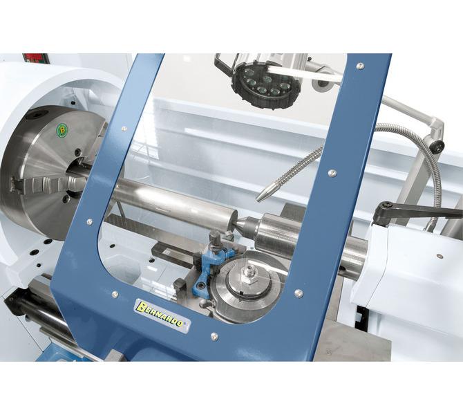 Zaleta stalowego uchwytu Bernardo PS3–315 mm / D8: wysoka współosiowość i dłuższa żywotność. - 398 - zdjęcie 6